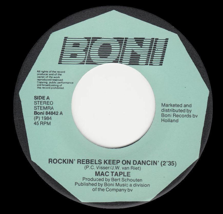 Rocking Rebels Keep on Dancing BONI 1984