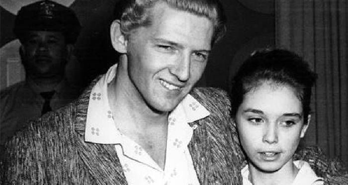 Jerry and his controversial bride Myra Gale Brown