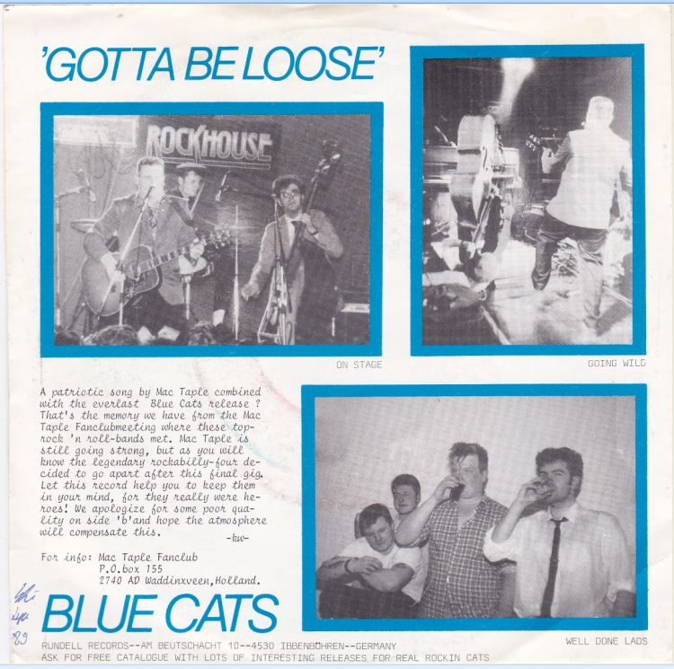 Gotta Beloose Blue Cats - Mac Taple B-side