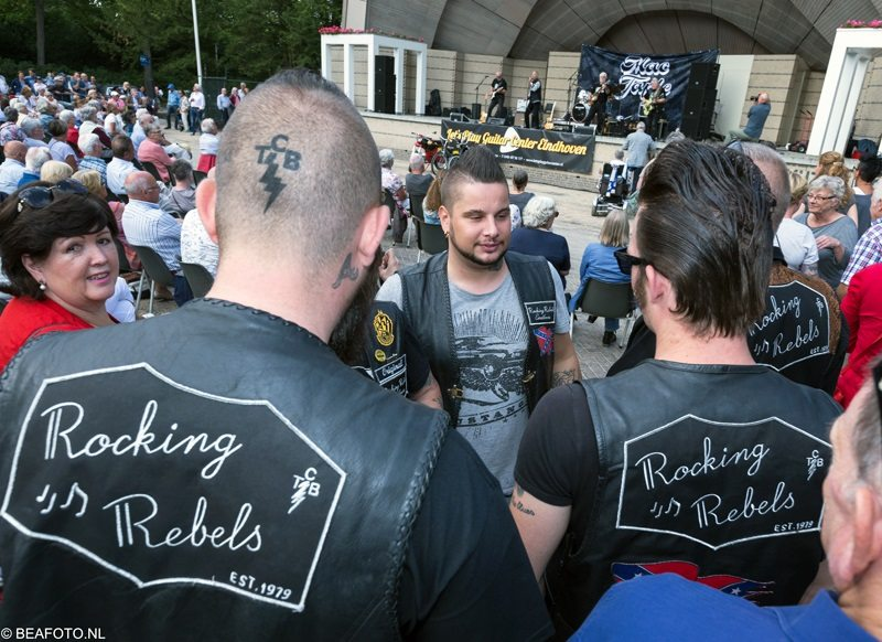 Rockng rebels Mac taple Wim van Doorne